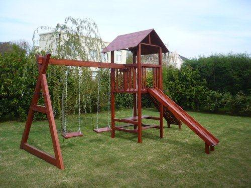 Juegos de madera de jardin para ni os imagui for Juegos de jardin rusticos