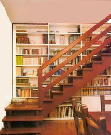 Entrepisos escaleras altillos revimn en quilmes - Barandas de escaleras de madera ...