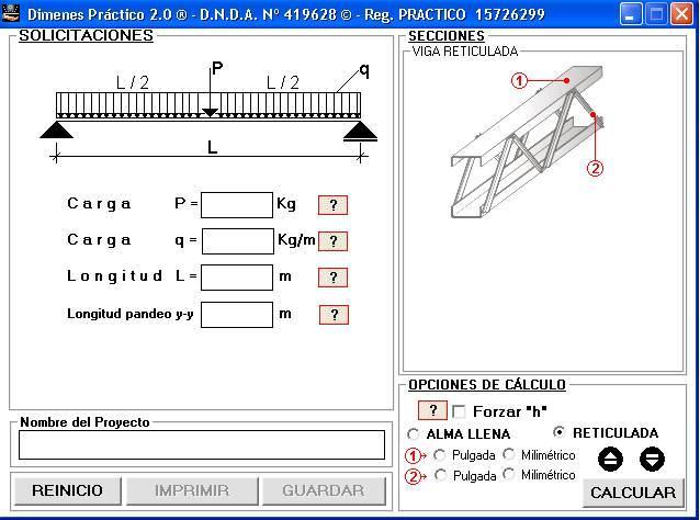 calculo estructural calculo de estructuras calculo On ejemplo de calculo de estructuras metalicas
