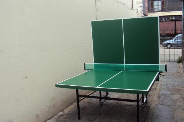 Im genes de mesa de ping pong plegable en caseros for Mesa de ping pong milanuncios