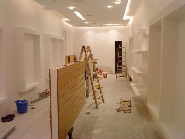 Im genes de construcciones en seco durlock decoracion - Interiores de peluquerias ...