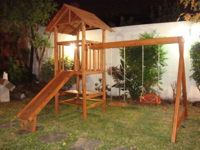 Mangrullos de madera para parque en lomas de zamora - Juegos de jardin para nios madera ...