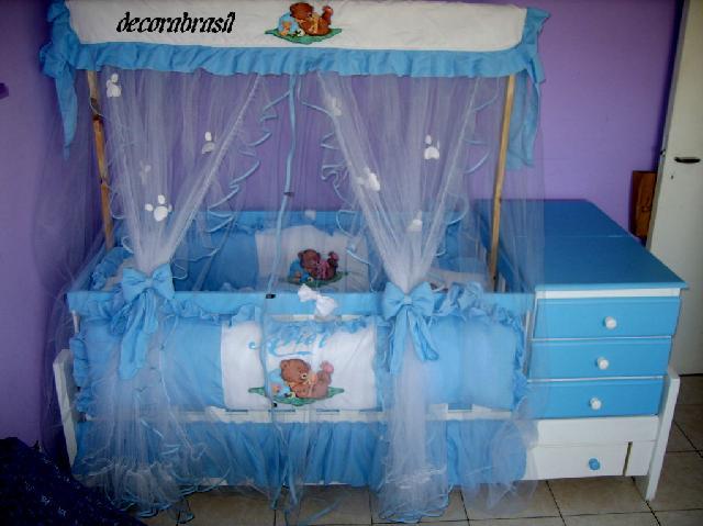 Decoracion completa para cunas y camas de bebes y ni os en - Decoracion de cunas para nina ...