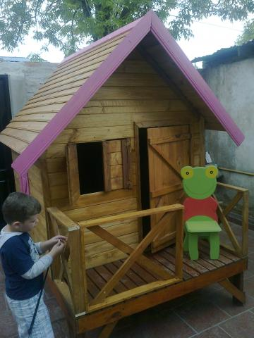 Im genes de caba as infantiles y juegos de madera en lomas for Cabanas infantiles en madera