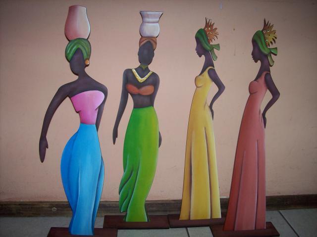 Imagenes De Mujeres Negras Para Pintar