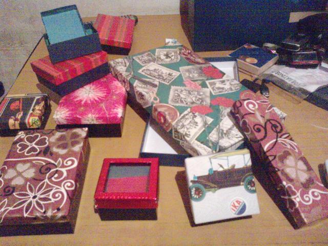 Cajas de carton decoradas para todo tipo de regalo - Cajas de carton decoradas para bebes ...