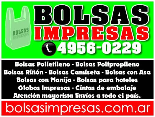 d5e1e7d1c Bolsas polietileno impresas al 011 4956-0229 en Balvanera