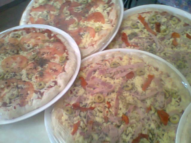 Pizzas para hornear desayunos catering en la plata for En 3 pizzas te olvido