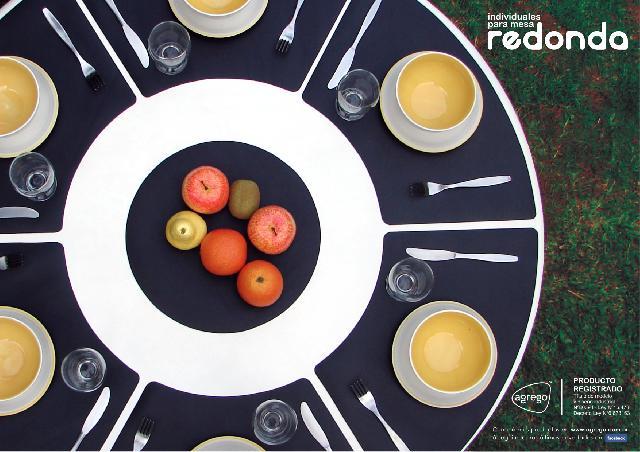 Manteles individuales para mesa redonda en olivos for Manteles para mesas redondas
