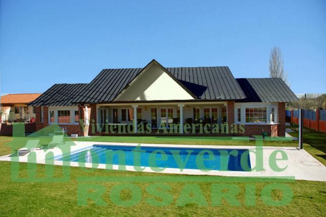Casas prefabricadas monteverde en la plata for Casa de diseno la plata