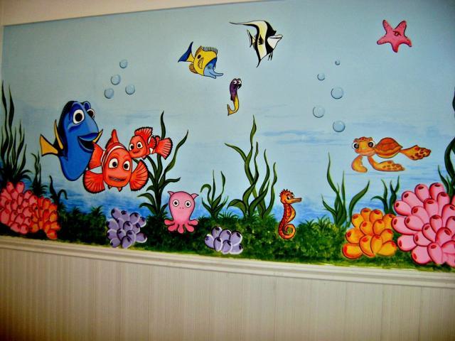 Im genes de fantasia en colores murales decorativos en pilar for Murales decorativos paisajes