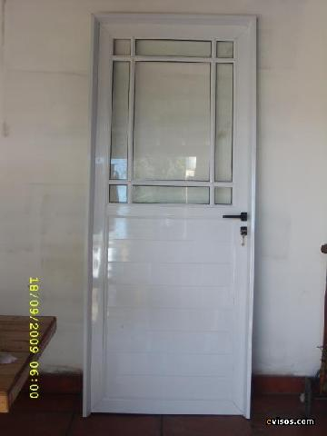 Preview for Puertas de aluminio blanco para bano