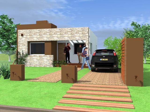Entradas Para Casas Free A Parede Em Cobog Cria A Integrao Do