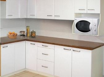Muebles de cocina en melamina en pilar for Severino muebles cocina alacena melamina blanca