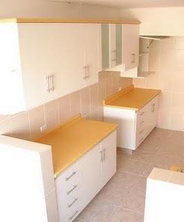 Muebles de cocina en melamina en pilar for Muebles de cocina zona pilar
