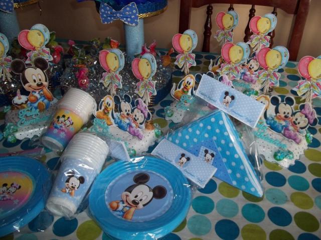 Souvenirs 1 año Mickey - Imagui
